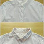 白シャツの紅茶染め